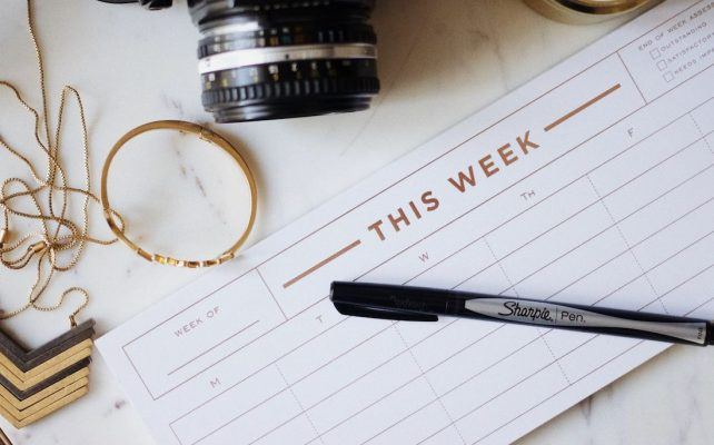 Creating a content marketing schedule
