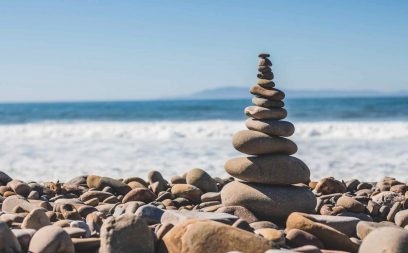 To describe balance in your life and as an article head image