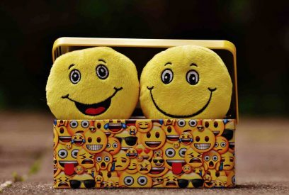 Smiley face plushies